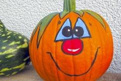Halloween festett tök szelíd