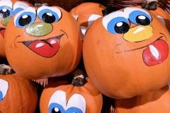 Halloween festett tökök