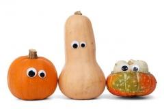Halloween tökfestés szemek
