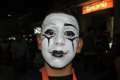 Halloween smink férfi