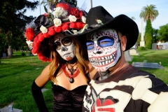 Halloween smink férfi női