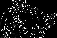 Halloween tök rajz1