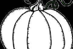 Halloween tök rajz alap