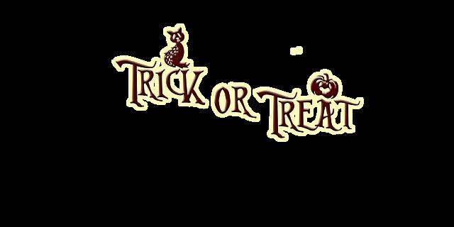 csokit vagy csalunk angolul, trick or treat