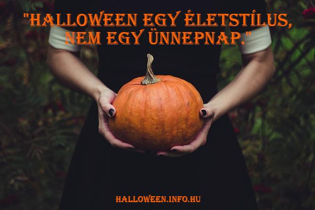halloween idézet, életstílus