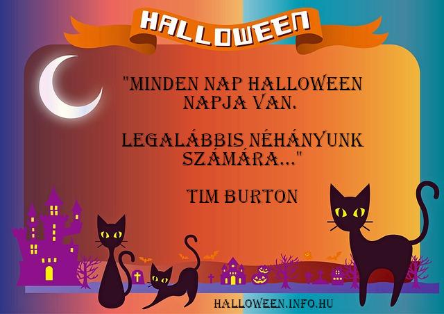 halloween idézet, Tim Burton