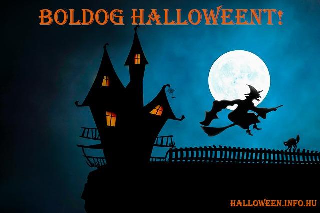 boldog halloweent boszorkányos