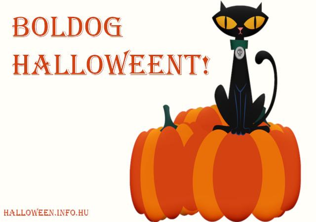 boldog halloweent - cicás
