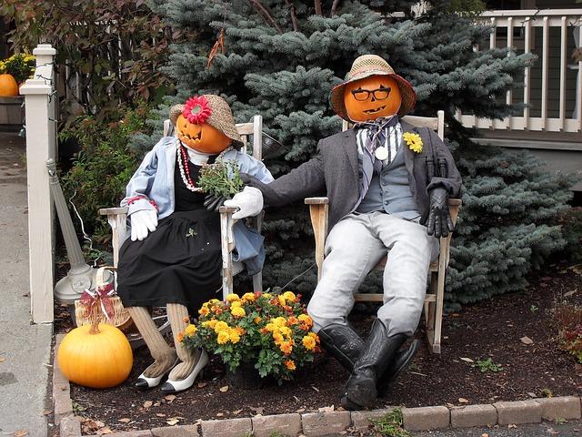 Halloween ház diszítés