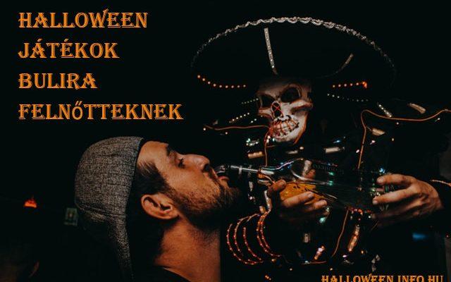 Halloween játékok bulira felnőtteknek