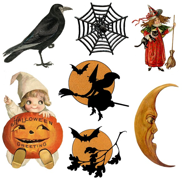 halloween jelképei