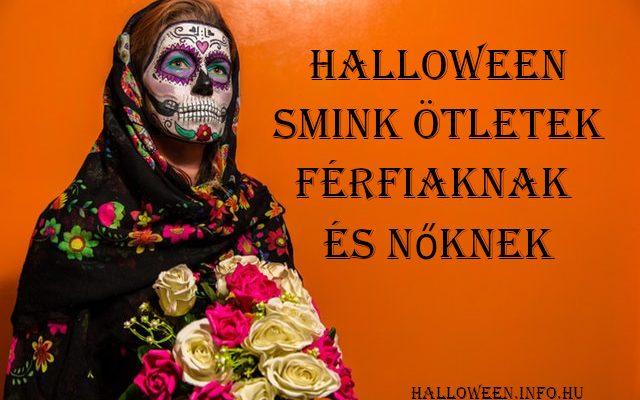Halloween smink ötletek férfiaknak és nőknek