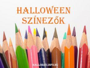 halloween színezők, halloween kifestők
