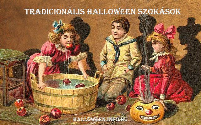 tradicionális halloween szokások