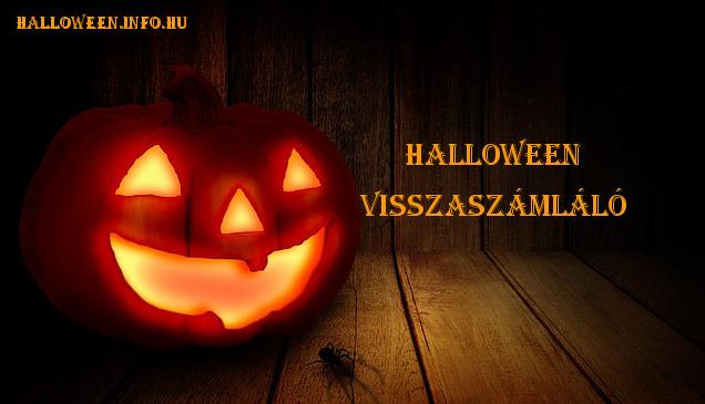 halloween visszaszámláló, hány nap van halloweenig