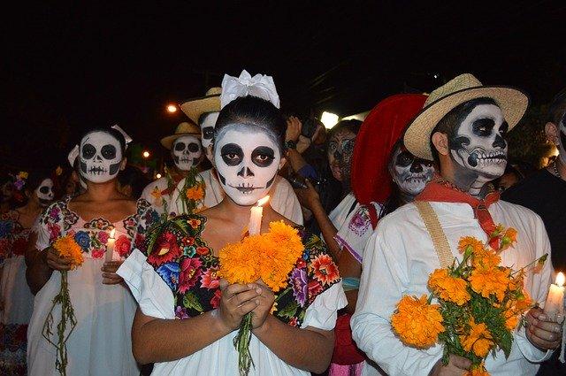 felvonulás halottak napja mexikó