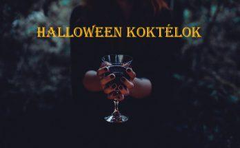 halloween koktélok
